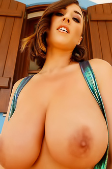 Stacey Poole And Her Amazing Extra Big Tits